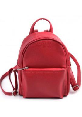 Фото Маленький женский рюкзак Камелия красный