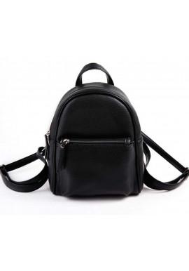 Фото Маленький женский рюкзак Камелия черный