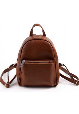 Фото Маленький женский рюкзак Камелия коричневый