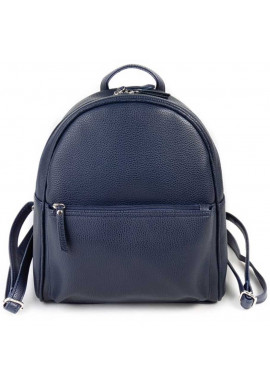 Фото Матовый синий женский рюкзак Камелия
