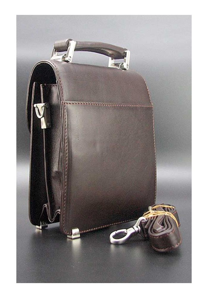 1361ddd1a072 ... Вертикальная коричневая мужская барсетка Desisan 244-1, фото №2 -  интернет магазин stunner ...