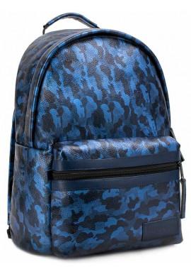 """Фото Кожаный рюкзак BBAG """"CRISP"""" BASIC DARK BLUE"""
