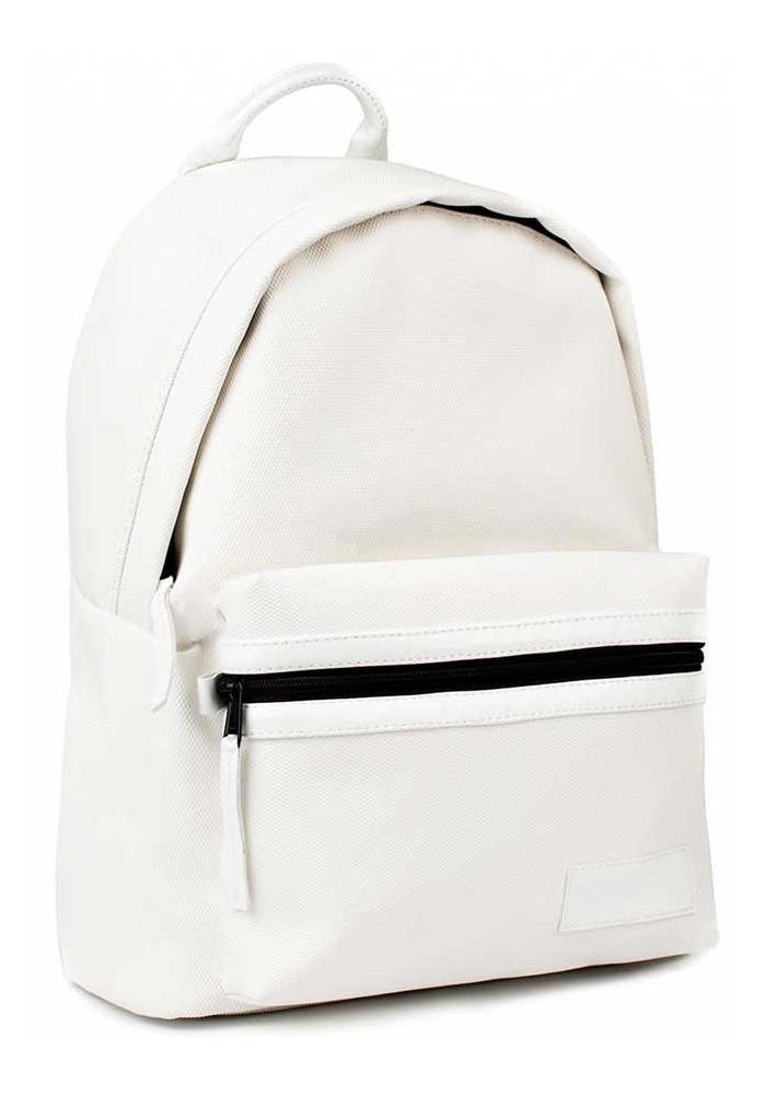"Белый летний рюкзак BBAG ""CRISP"" BASIC WHITE PIXEL"