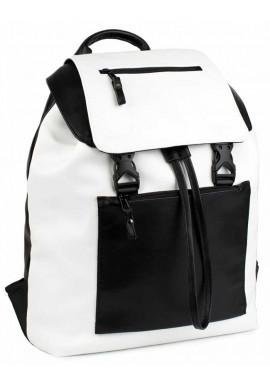 Фото Комбинированный женский рюкзак BBAG CROSSTOWN BLACKWHITE