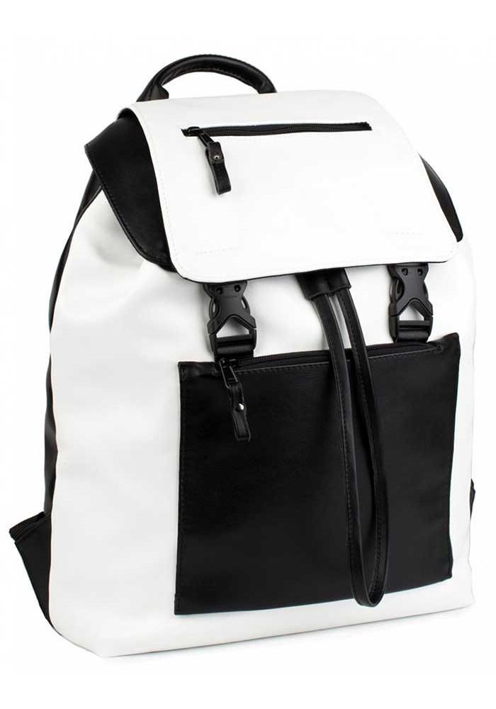 Комбинированный женский рюкзак BBAG CROSSTOWN BLACKWHITE