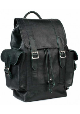 Фото Кожаный мужской рюкзак BBAG GLORY GREEN