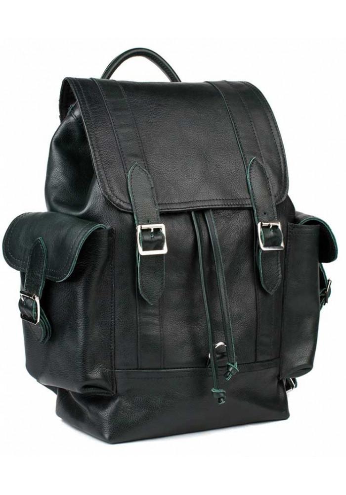 Кожаный мужской рюкзак BBAG GLORY GREEN