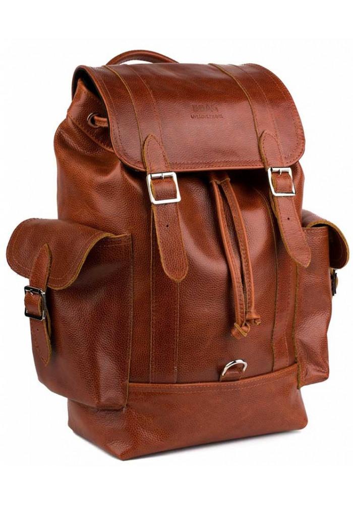 Кожаный мужской рюкзак BBAG GLORY ORANGE