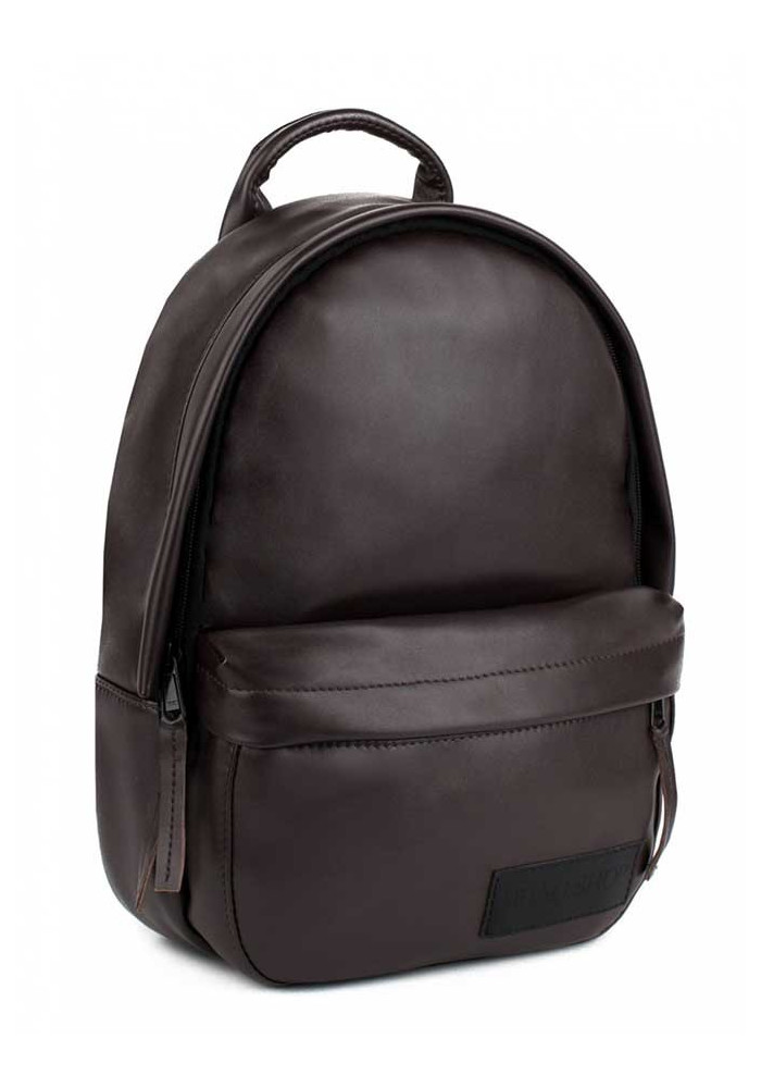 Женский коричневый рюкзак BBAG CAPSULE MINI BROWN