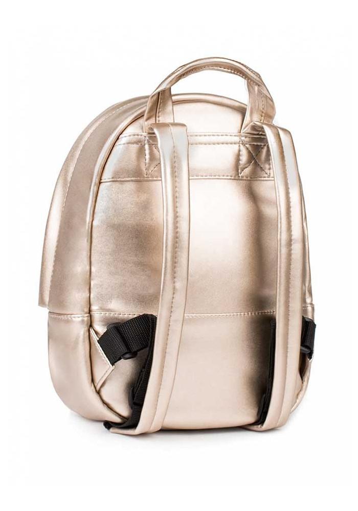 677ac1809f06 ... Женский золотой рюкзак BBAG CAPSULE MINI ROSE GOLD, фото №2 - интернет  магазин stunner ...