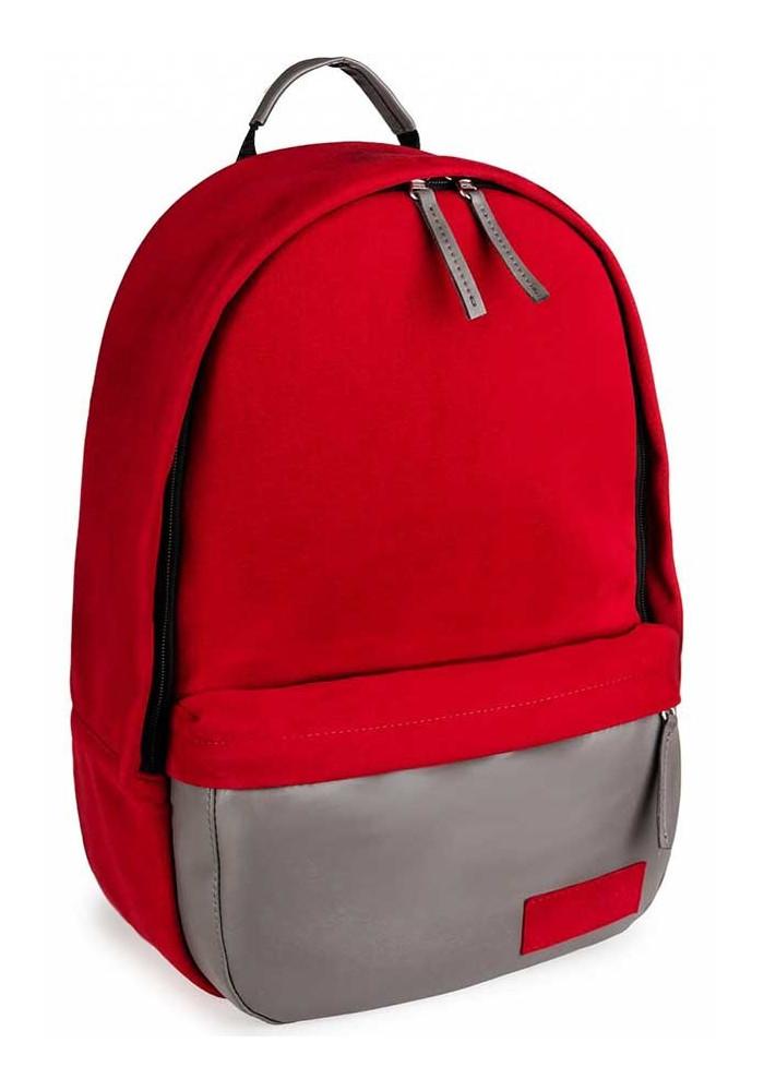 Женский рюкзак BBAG CAPSULE BASIC RED&GREY