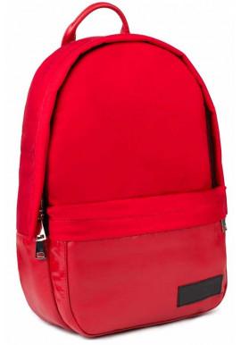 Фото Комбинированный женский рюкзак BBAG CAPSULE BASIC RED