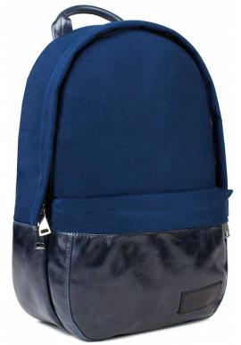 Фото Синий рюкзак из нейлона и кожи BBAG CAPSULE BASIC BLUE