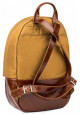 Желто-коричневый рюкзак BBAG CAPSULE BASIC BRONZE, фото №2 - интернет магазин stunner.com.ua
