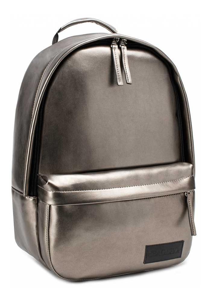 Золотой рюкзак эко-кожи BBAG CAPSULE BASIC GOLD