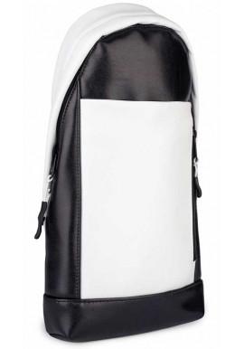 Фото Рюкзак-сумка через плечо BBAG MAGNUM BLACKWHITE