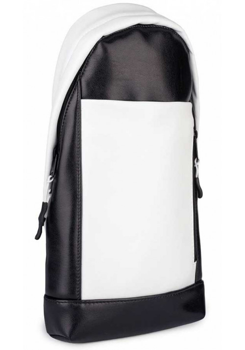 Рюкзак-сумка через плечо BBAG MAGNUM BLACKWHITE