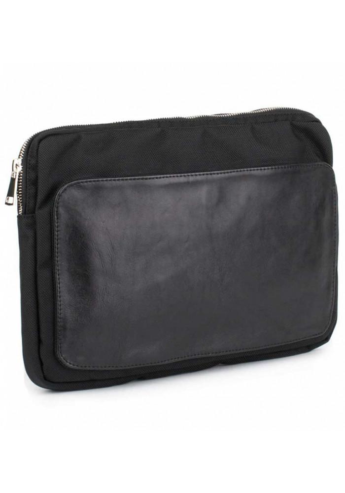 Черный чехол для ноутбука BBAG MANHATTAN BLACK