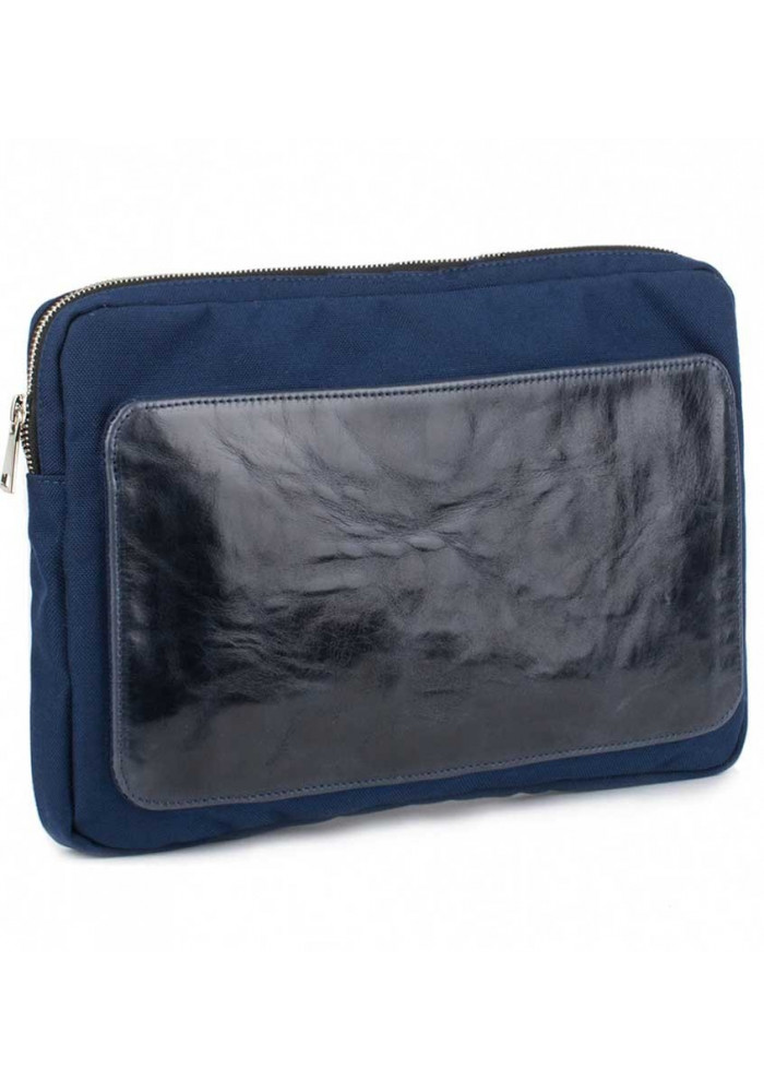 Синий чехол для ноутбука BBAG MANHATTAN NAVY BLUE
