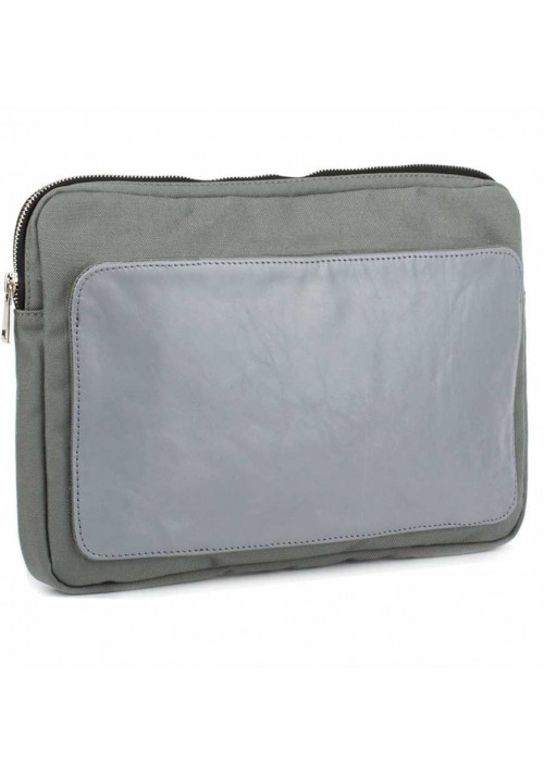 Серый чехол для ноутбука BBAG MANHATTAN GREY