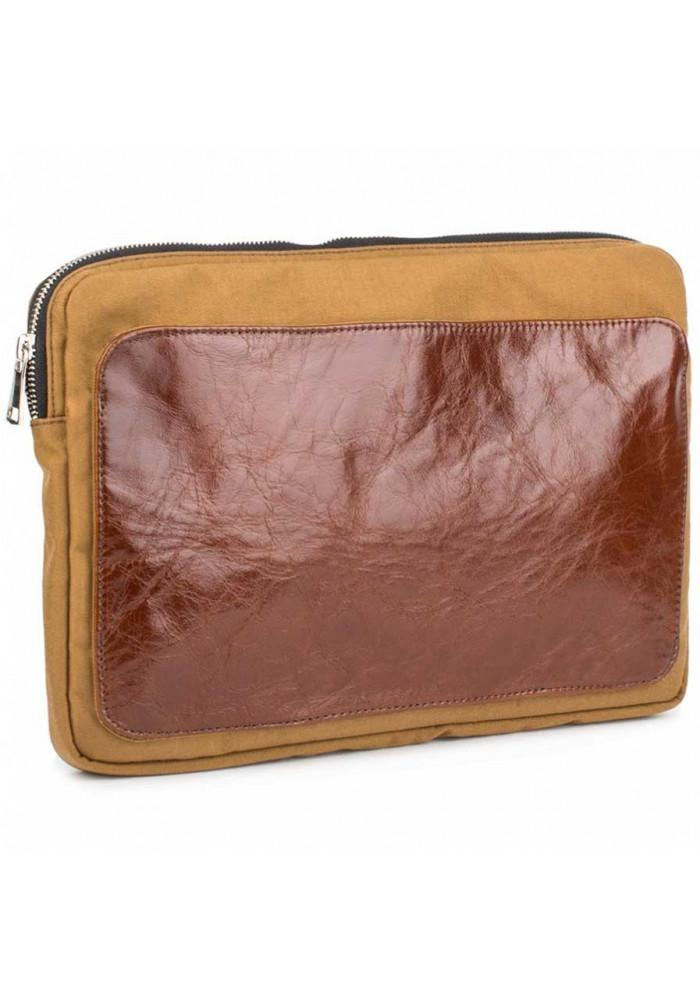 Желто-коричневый чехол для ноутбука BBAG MANHATTAN BRONZE
