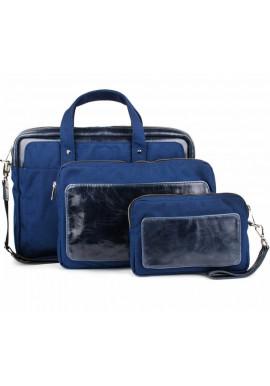 Фото Синий набор аксессуаров BBAG TRIBECA NAVY BLUE