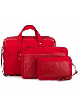 Фото Красный набор аксессуаров BBAG TRIBECA RED