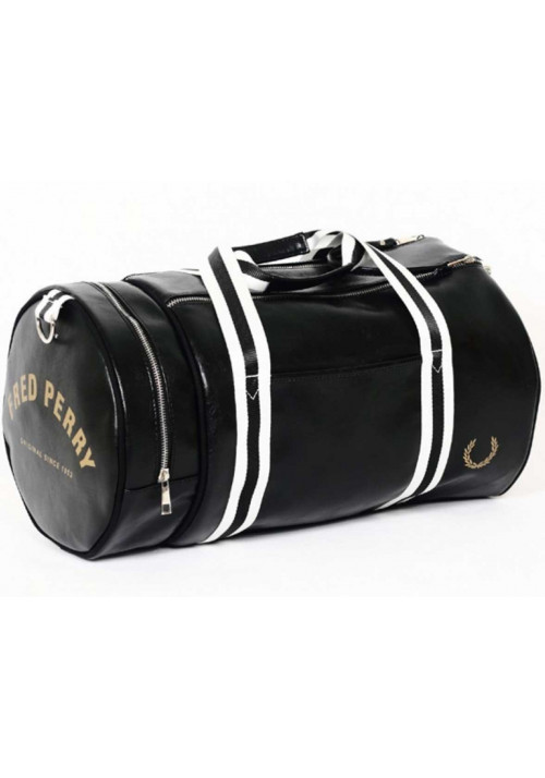 Мужская сумка в форме цилиндра Fred Perry