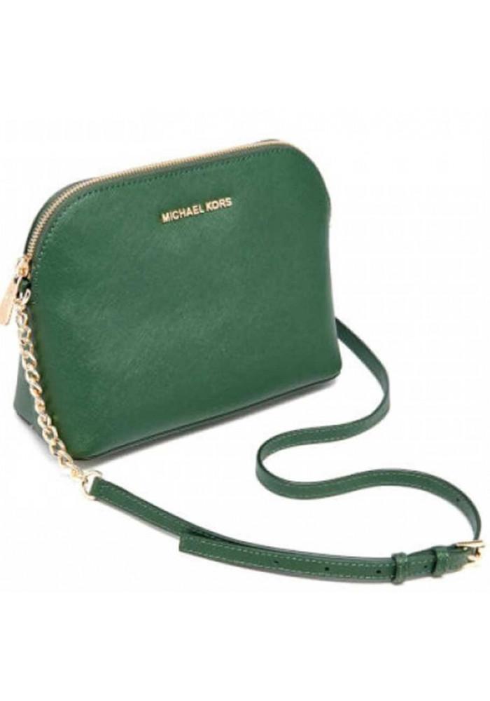 3870d65a7bd8 ... Зеленый женский клатч MK Cindy Crossbody Bag Green, фото №2 - интернет  магазин stunner ...