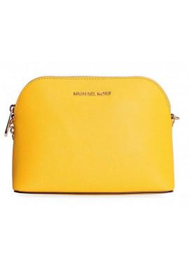 Фото Желтый женский клатч MK Cindy Crossbody Bag Yellow