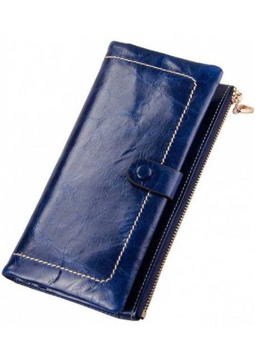 Кожаный женский кошелек Ashley Blue