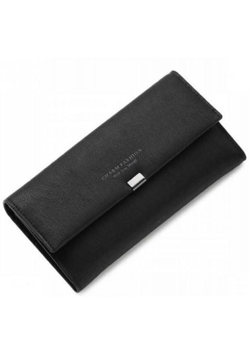 Классический женский кошелек Charm Fashion Black