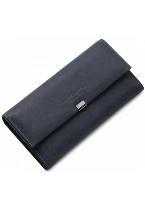 Классический женский кошелек Charm Fashion Blue