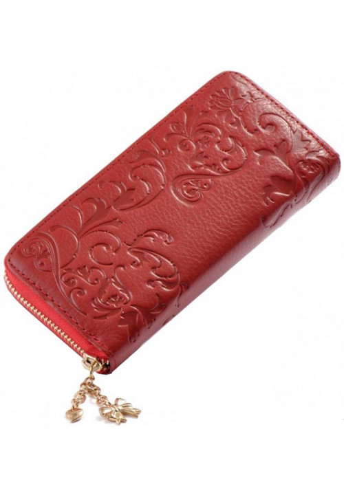 Женский кошелек на молнии Fashion Red