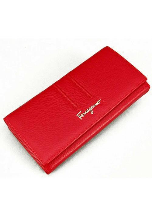 Женский кожаный кошелек SF 4386 Red