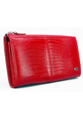 Фото Красный кожаный женский кошелек Desisan 307