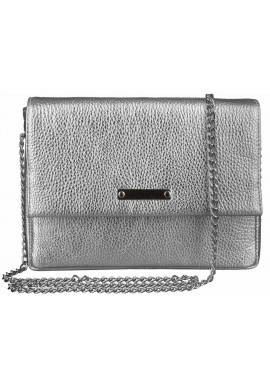 Фото Женская сумочка-клатч Лора серебро