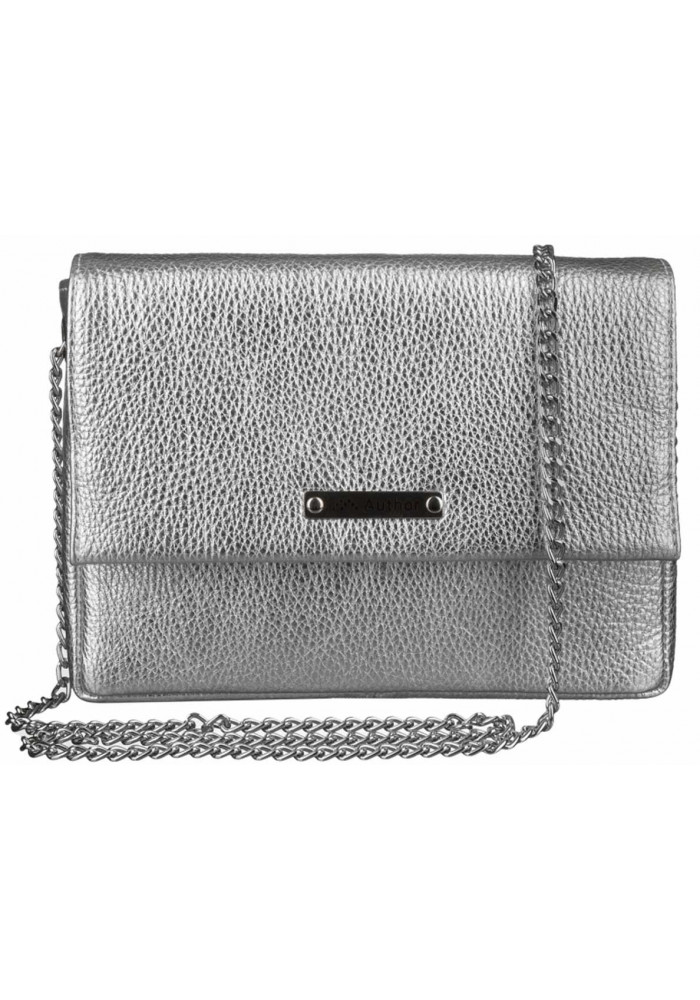 Женская сумочка-клатч Лора серебро