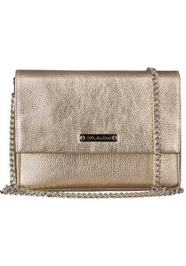 Фото Женская сумочка-клатч Лора золотая