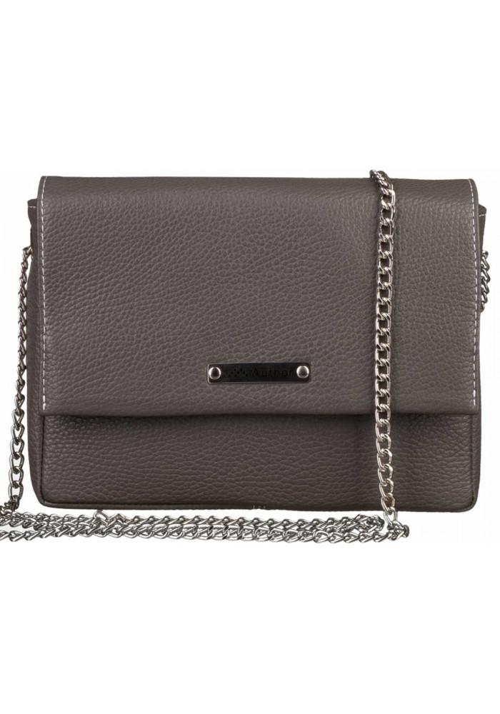 Женская сумочка-клатч Лора графитовая