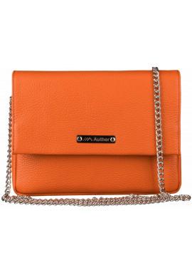 Фото Женская сумочка-клатч Лора оранжевый