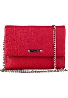 Фото Женская сумочка-клатч Лора красная