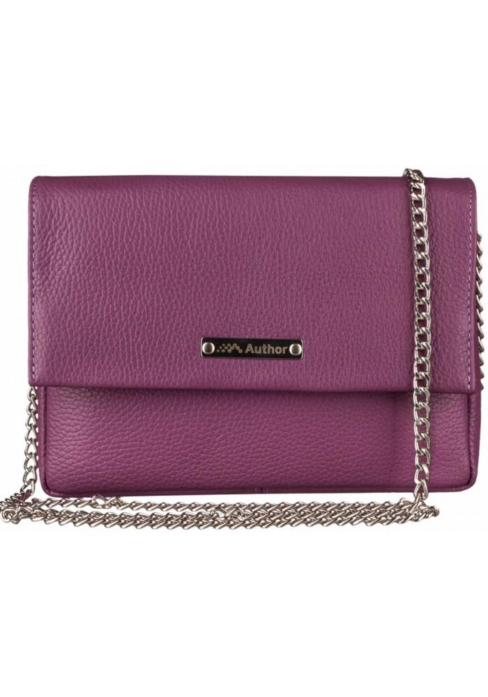 Фото Женская сумочка-клатч Лора фиолетовая