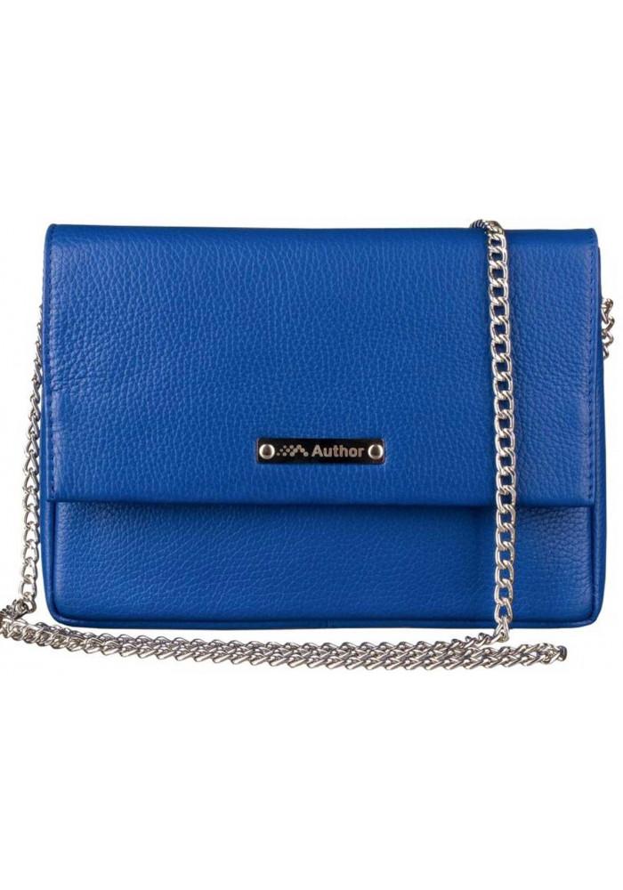 Женская сумочка-клатч Лора синяя