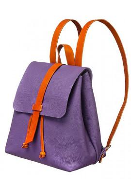 Фото Женский рюкзак Глория фиолетовый с подкладкой