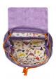 Женский рюкзак Глория фиолетовый с подкладкой