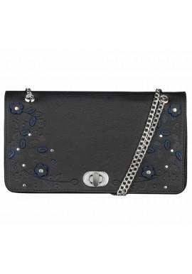 Фото Женская сумочка-клатч Линда черная