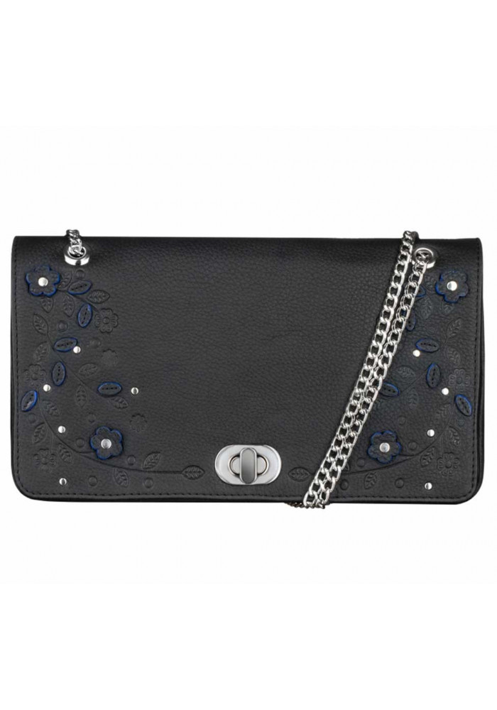Женская сумочка-клатч Линда черная