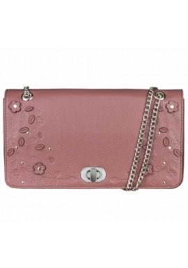 Фото Женская сумочка-клатч Линда кориандр