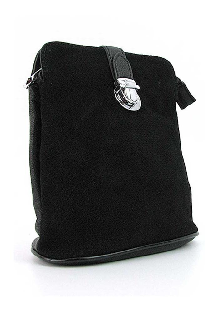 Маленькая черная женская сумка-клатч Farfana Rosso 80397-1
